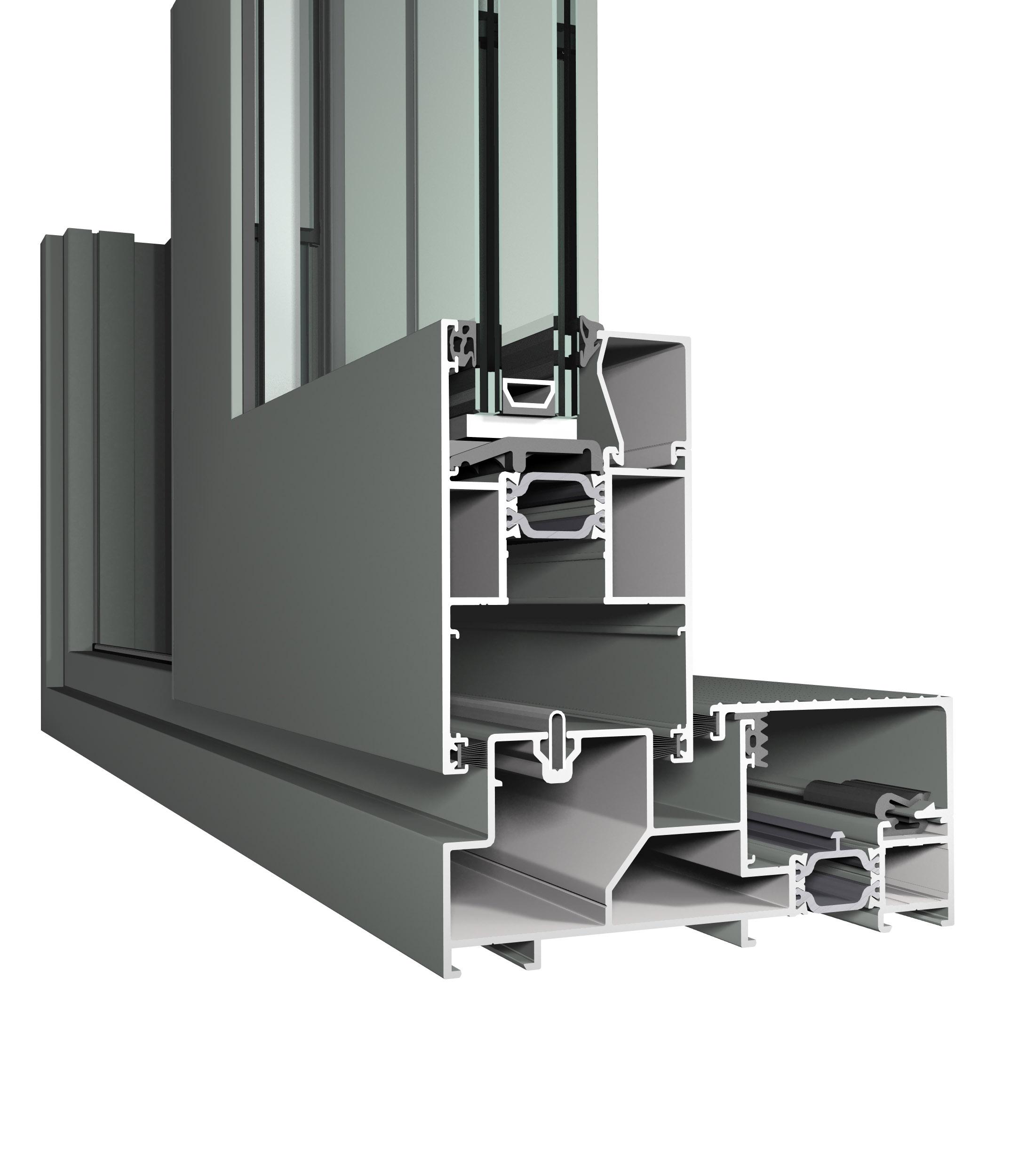 portes coulissantes alupar l 39 art du ch ssis aluminium. Black Bedroom Furniture Sets. Home Design Ideas